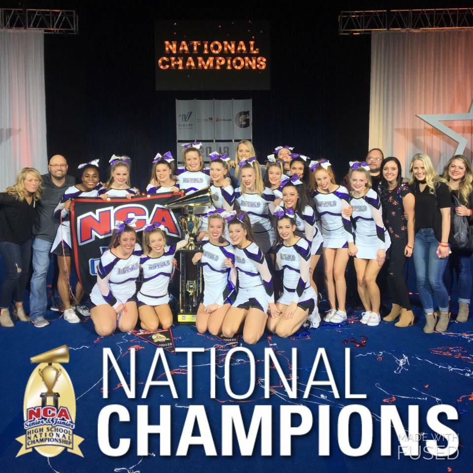 CCS Varsity Cheer 2018 National Champions