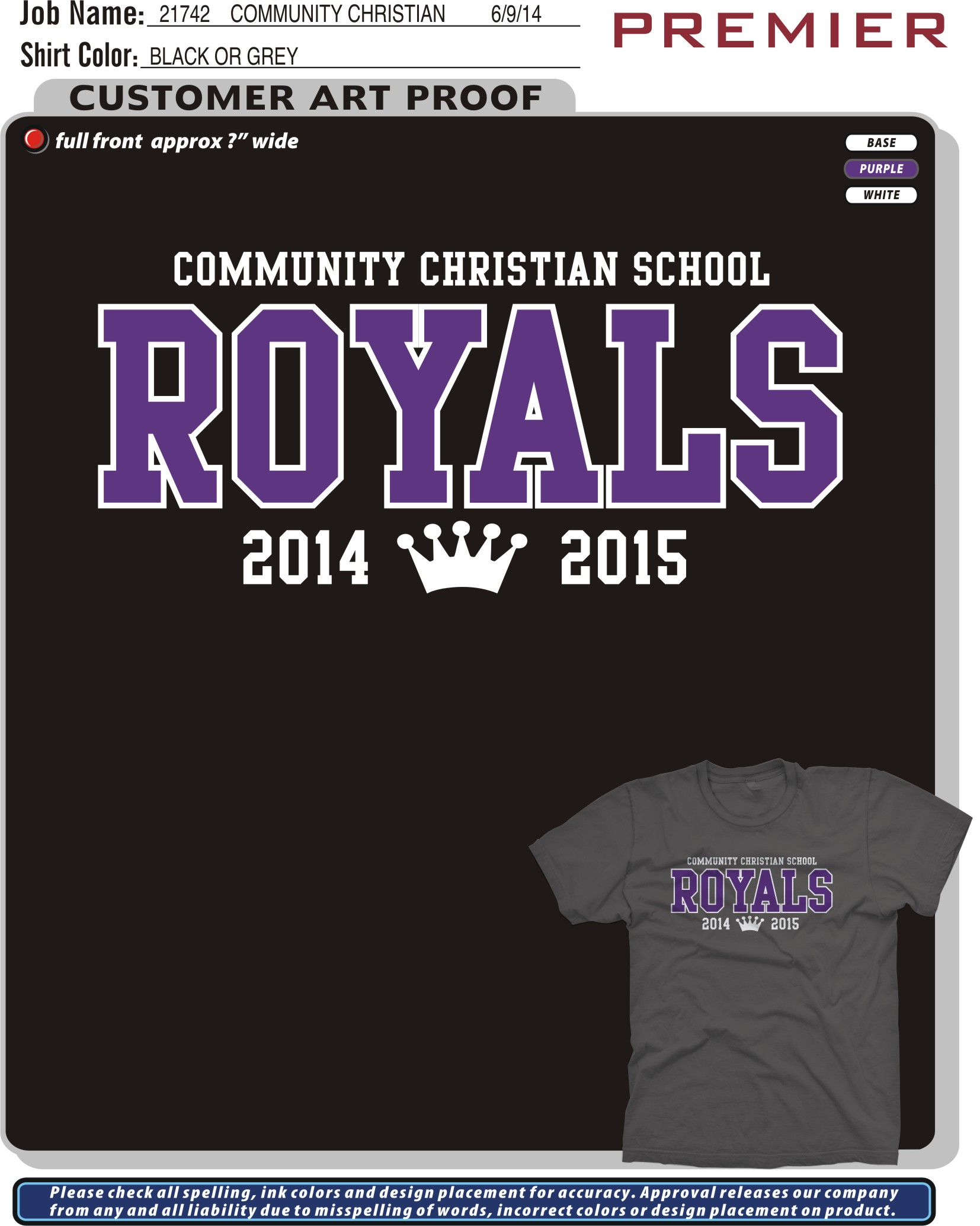 Fall 2014 - ROYALS Design